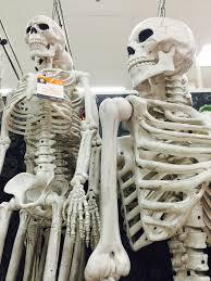 halloween skeleton decorations target u0027s halloween display scary skeleton decorations flickr