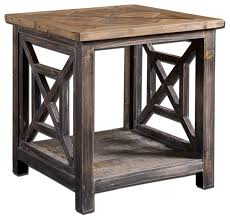 Rustic Coffee Tables And End Tables Aged Wood Rustic End Table U2013 Rustic End Tables With Storage