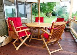 why choose wood patio furniture