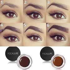 henna eye makeup focallure makeup waterproof henna eyebrow tint cosmetics brown