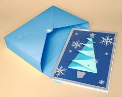 card making templates for 3d christmas tree greeting card