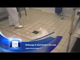 nettoyage désinfection des sols deterquat poste de