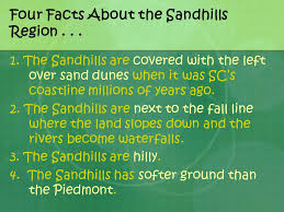 south carolina landform regions and facts about landforms ppt