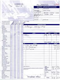 Air Conditioning Invoice Template by Plumbing Invoice Template Australia Rabitah