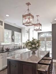 kitchen island decoration gorgeous home tour with designs globe pendant