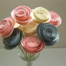 paper flower centerpieces shop paper flower arrangements on wanelo