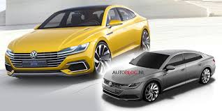volkswagen arteon 2017 2018 volkswagen arteon previewed late 2017 launch for cc