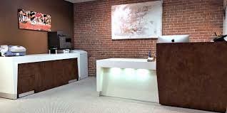Reception Station Desk by Baltimore Modern Reception Desk 90 Degrees Office Concepts 90
