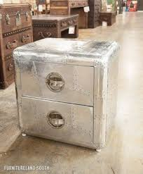 Trunk Bedside Table by Aluminum Trunks Foter