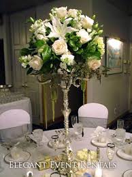 just flowers florist just flowers on every other table vs candelabra on every one