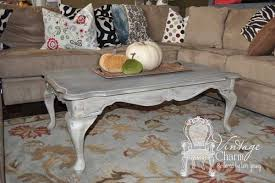 Shabby Chic Coffee Tables Weathered Grey Coffee Table Hometalk