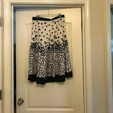 60 off dresses u0026 skirts black and white patterned skirt from