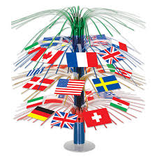 Football Country Flags International Party Decorations International Theme Party