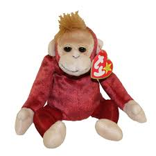 ty beanie baby schweetheart the monkey 8 5 inch bbtoystore