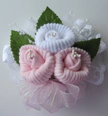how to make a baby shower corsage baby shower sock corsages we got so many requests to make