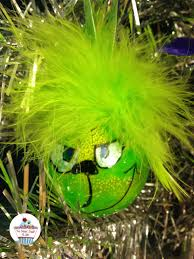 diy abominable snowman grinch ornaments christmascrafts