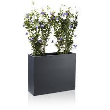 raumteiler 6er pflanztrog divisor 70 fiberglas raumteiler anthrazit