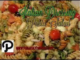 Pasta Salad Recipes With Italian Dressing How To Make Zesty Italian Dressing Pasta Salad Classic Italian