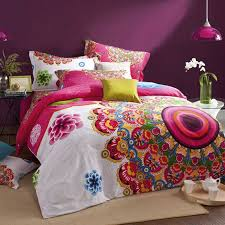 Moroccan Bed Linen - online shop bohemian bedding set 4pcs winter warm boho bedclothes