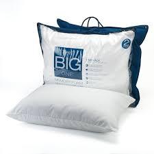 memory foam bed pillows the big one 2 pk gel memory foam bed pillows standard queen