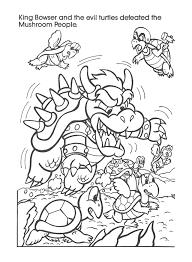 super smash brothers coloring pages kids coloring