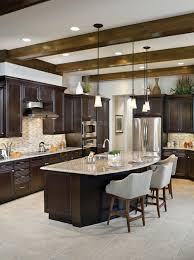 brown kitchen cabinets with backsplash backsplash color selection for cabinets