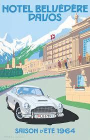 pel407 u0027aston martin db5 u2013 hotel belvédère davos u0027 by charles