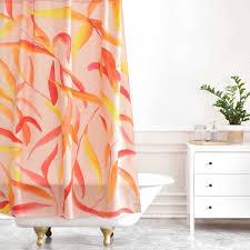 autumn leaves shower curtain shower curtain