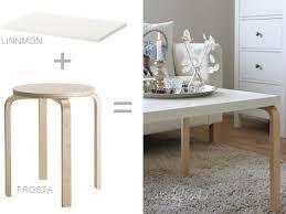 les de table ikea table basse design pas chère en diy diy design ikea hack and salons