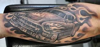 50 awesome car tattoos
