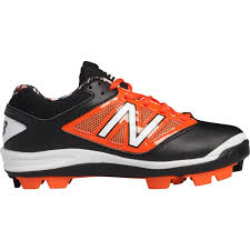 onlin more selection new balance 4040 v3 baseball cleats black orange