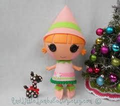 my baby u0027s tree pink tinsel tree mini lalaloopsy dolls