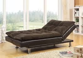 Modern Futon Sofa Bed 407 95 Millie Modern Futon Sofa Bed With Chrome Legs Sofa Beds 8