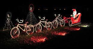 century cycles santa goes by bike at lights