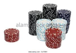Small And Big Blind Small Stack Blue Poker Chips Stock Photos U0026 Small Stack Blue Poker