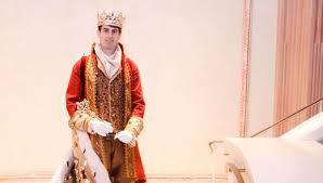 mardi gras king and costumes selma chosen to be king felix iii in mobile mardi gras the