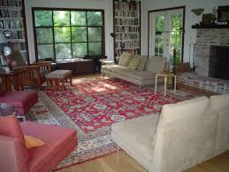 Persian Rugs Edinburgh by Red Persian Rug Living Room Creative Rugs Decoration