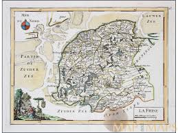 la frise netherlands antique map cartographer le rouge mm