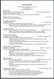 resume for graduate school template curriculum vitae template graduate school from vita resume exle
