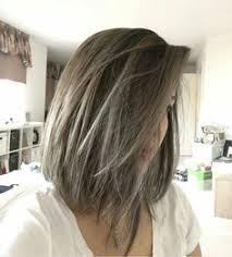 short hair popular hair colors greige hair rooty ash blonde rooty grey hair