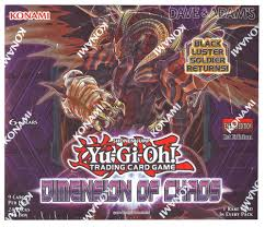 yu gi oh dimensions of chaos 1st edition booster box da card world