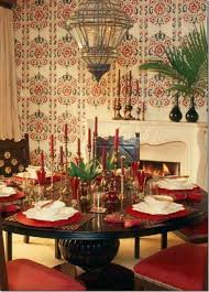 high resolution romantic dinner image table design dining room romantic moroccan dining room design with wooden round table chairs candles on and chandeliere dweef com