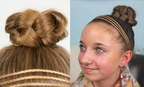 cute short hairstyles for 4 yr old simple braided bun cute girls hairstyles cute girls hairstyles