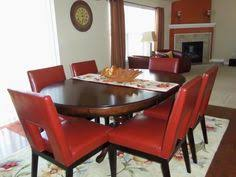 ronan extension table and chairs ronan tobacco brown dining chair dining chairs brown and solid wood