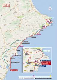 Alicante Spain Map by The Cycle Tour Of Spain Is Coming To Torrevieja N332 Driving
