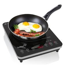 Which Induction Cooktop Is Best Portable 1800 Watt Induction Countertop Cooktop Burner By Ivation