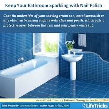 Bathtub Cleaning Tricks Bathroom Cleaning Hacks Tips And Tricks Lifetricks