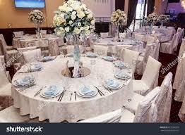 luxury decor luxury wedding decor flowers glass vases stock photo 615254324