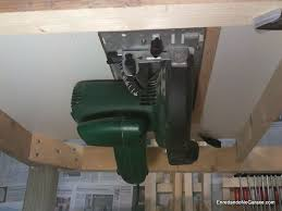 convert circular saw to table saw how to make a table saw enredando no garaxe