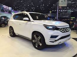 ssangyong next gen ssangyong rexton to be a mahindra suv in india
